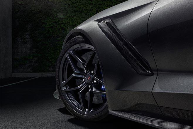 2019 Chevrolet Corvette ZR1 wheels