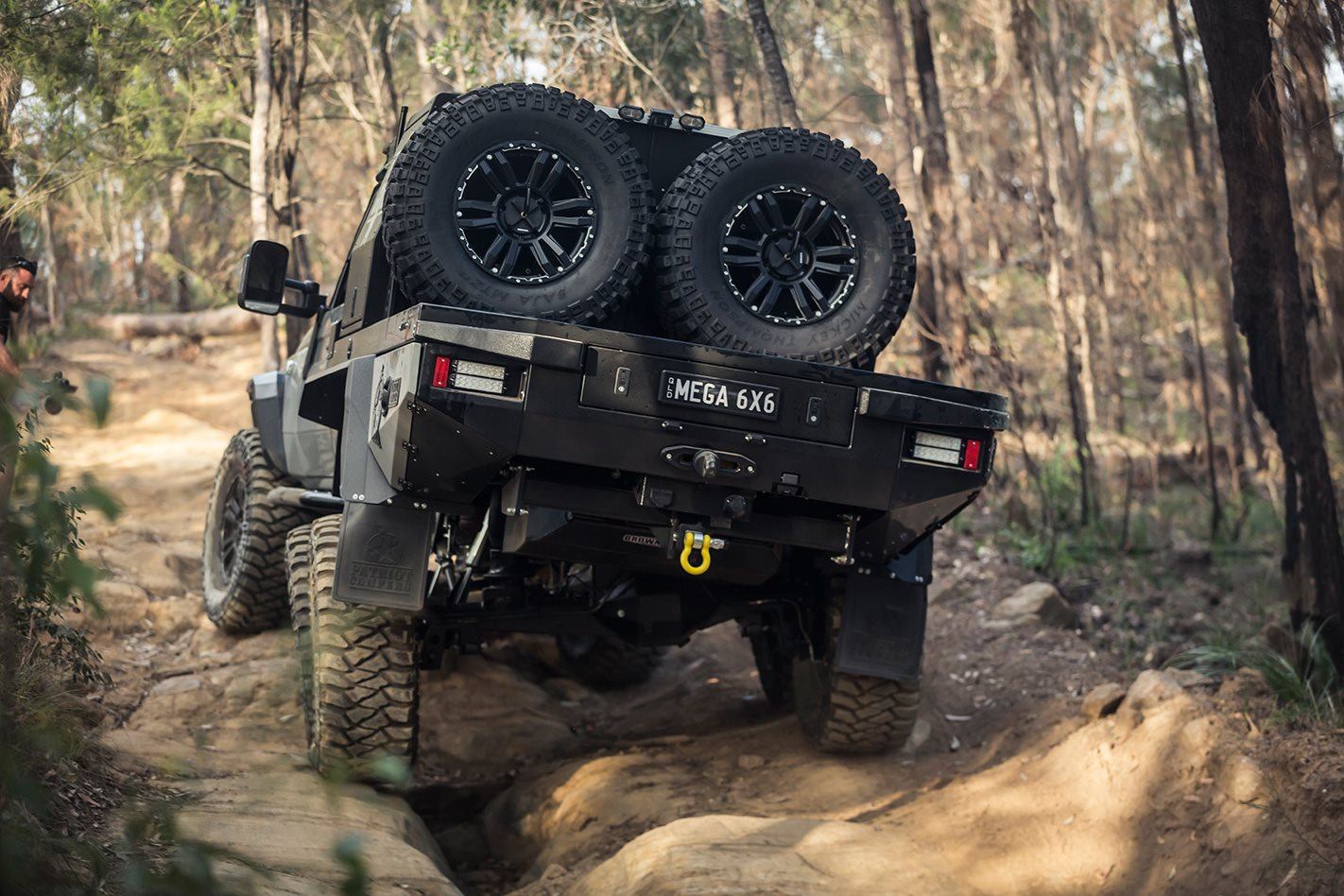 Patriot Campers 6x6 Toyota LC79 rear.jpg