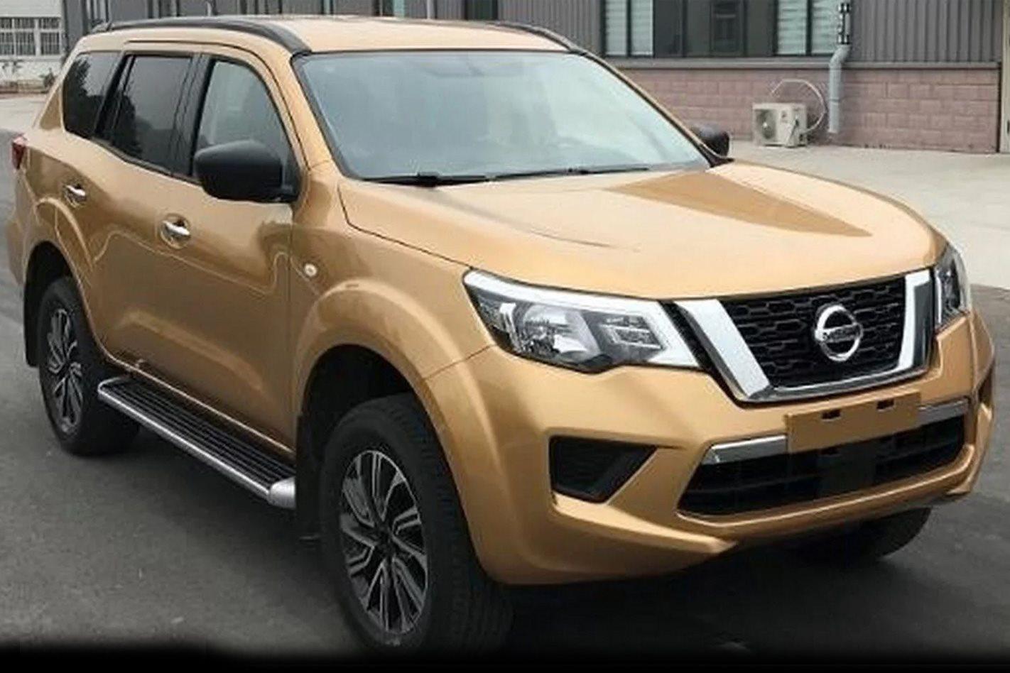 2018 Nissan Terra Outed As Navara Based Wagon