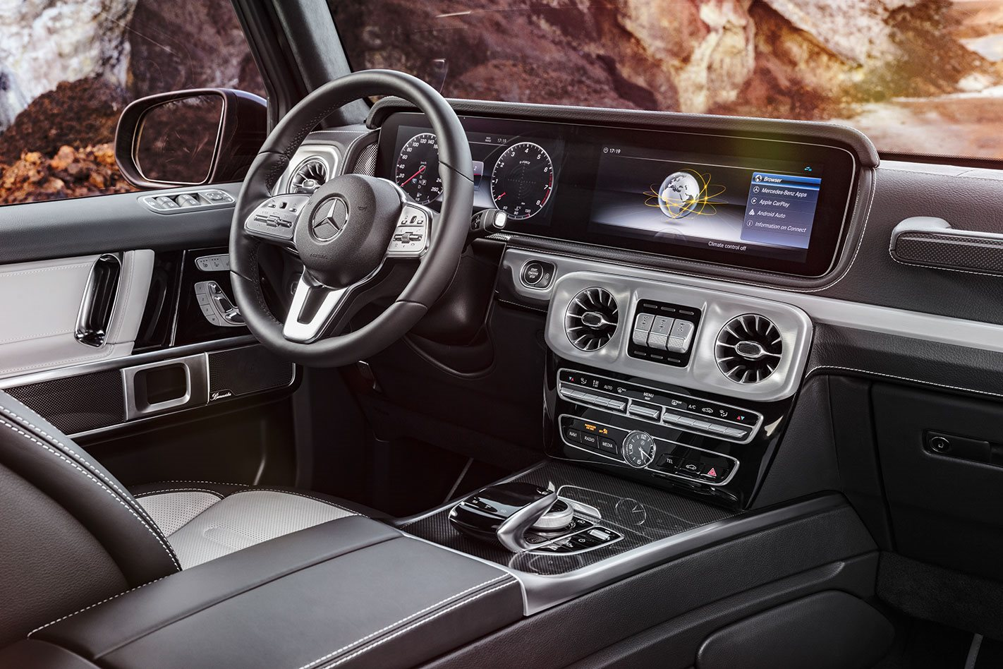 2018 Detroit Motor Show: Mercedes-Benz G-Class shows off its luxury ...