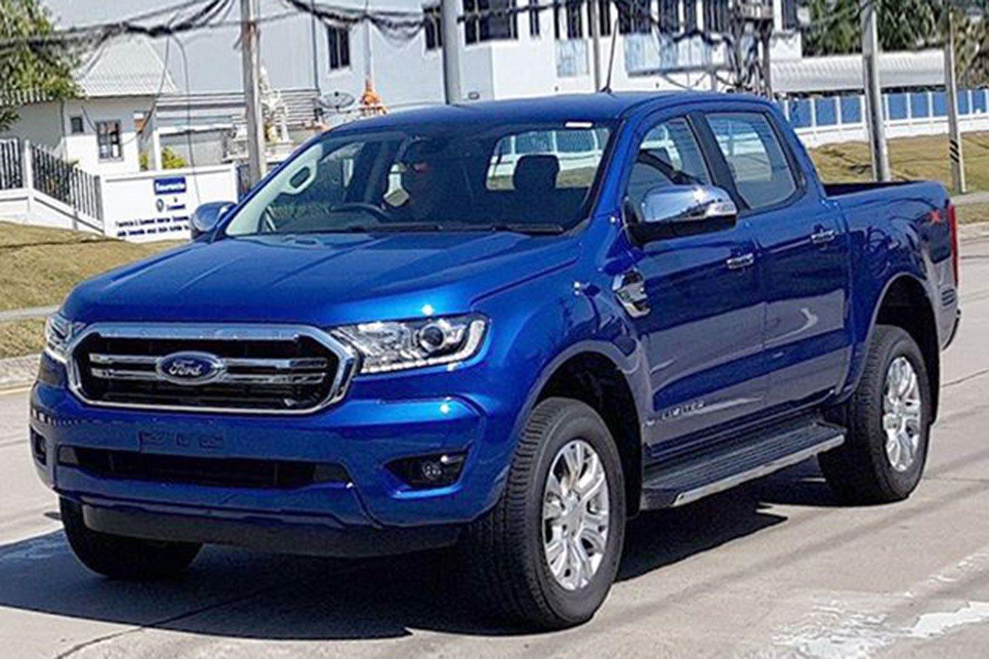 2018 Ford Ranger Facelift Spied