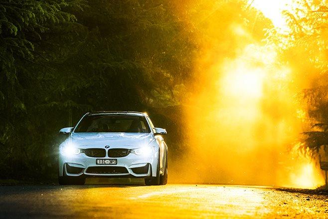 2017 BMW M4 Pure sunset