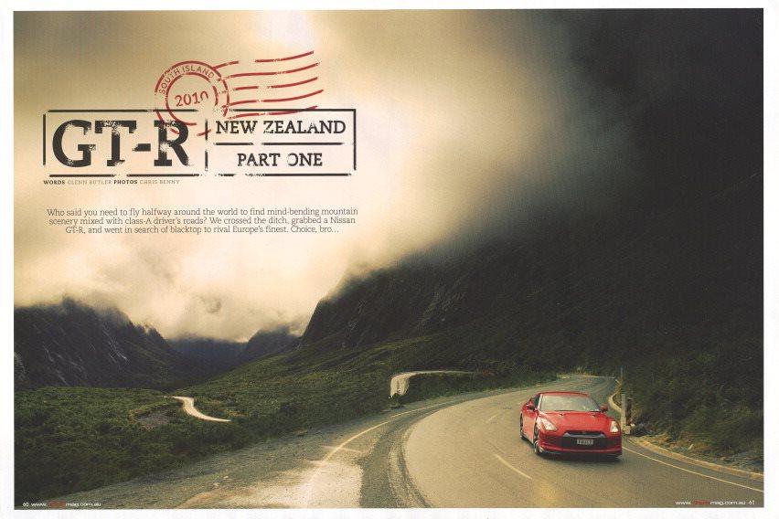 Nissan GT-R Wheels Magazine November 2010