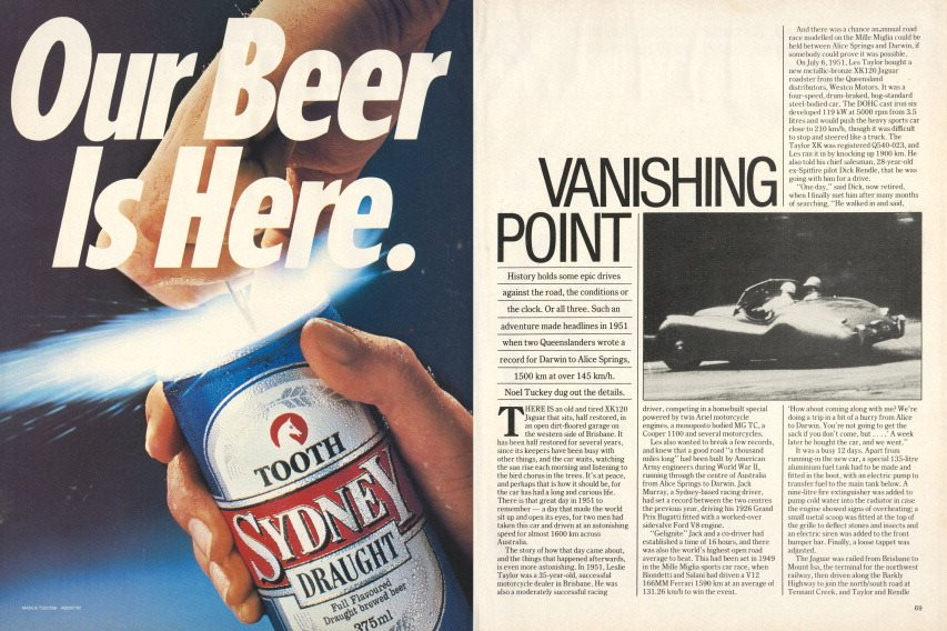 Vanishing Point February 1983