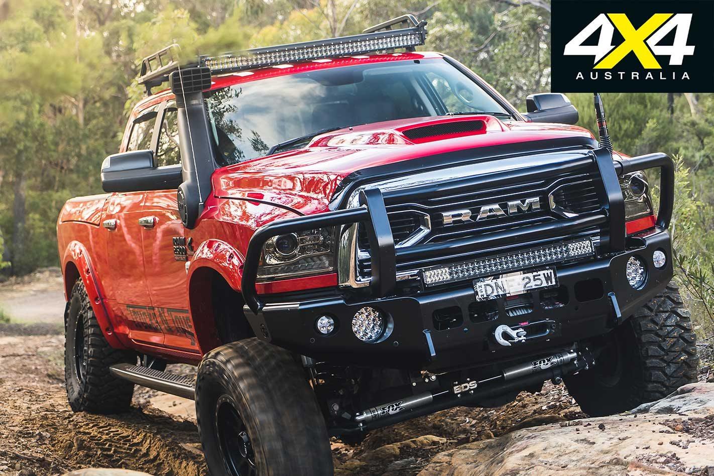 Custom Dodge Ram >> Custom Ram 2500 4x4 Review