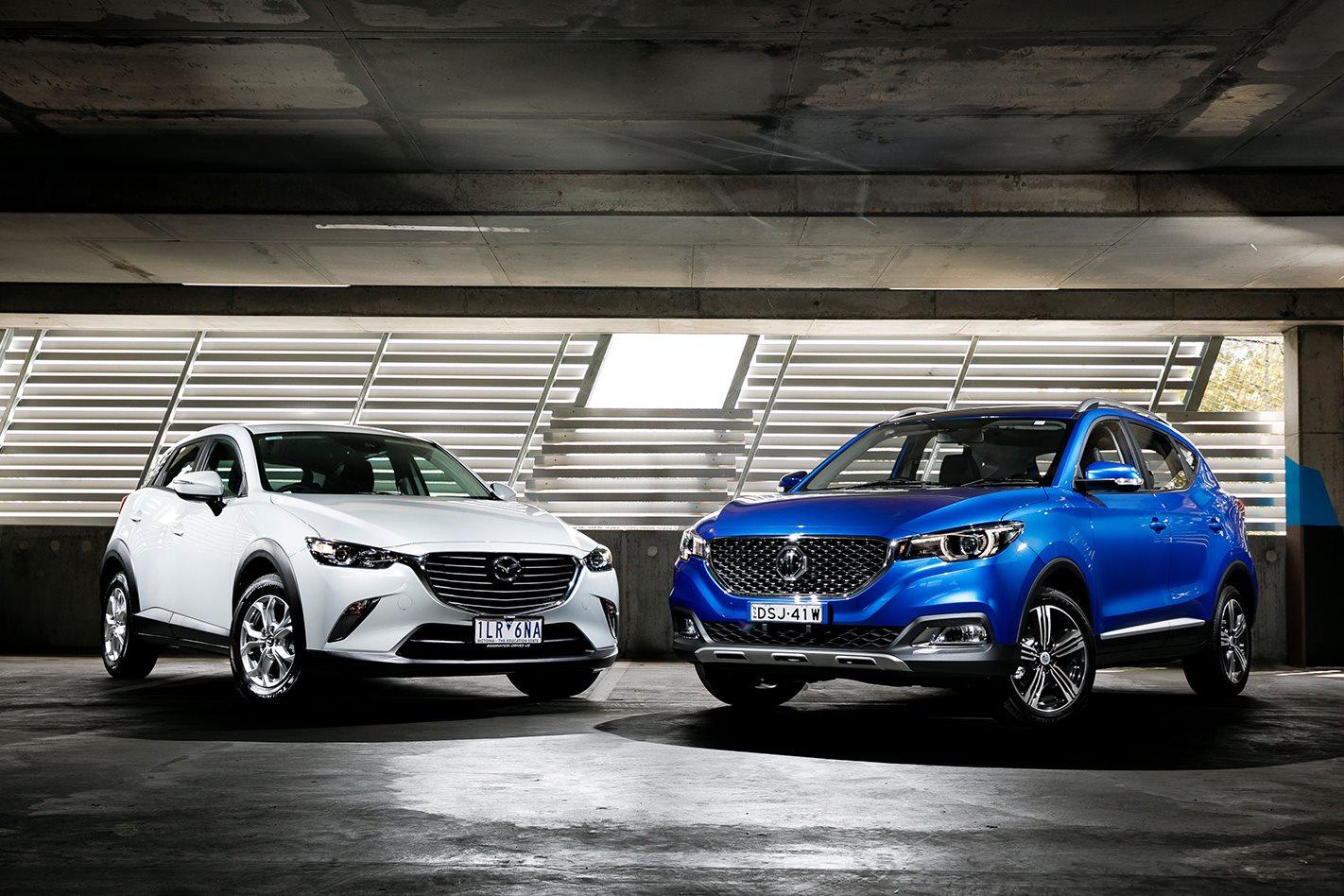 Mazda Cx 3 Maxx V Mg Zs Essence Comparison Review