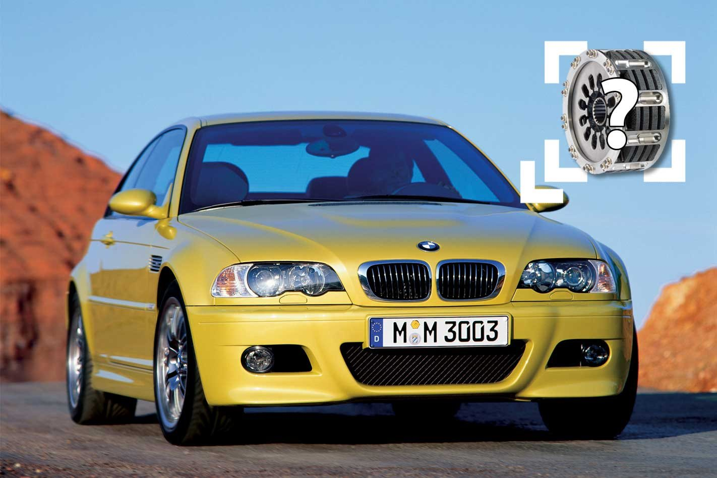 BMW M3 owner receives F1 race clutch by accident
