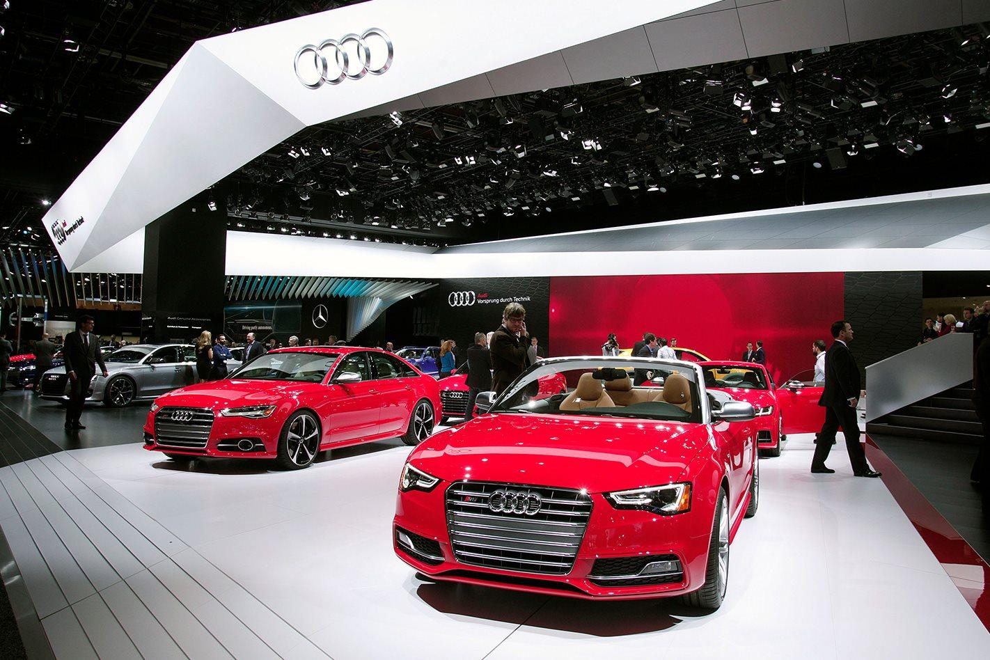 Audi Joins Detroit Motor Show Noshow List - Audi detroit