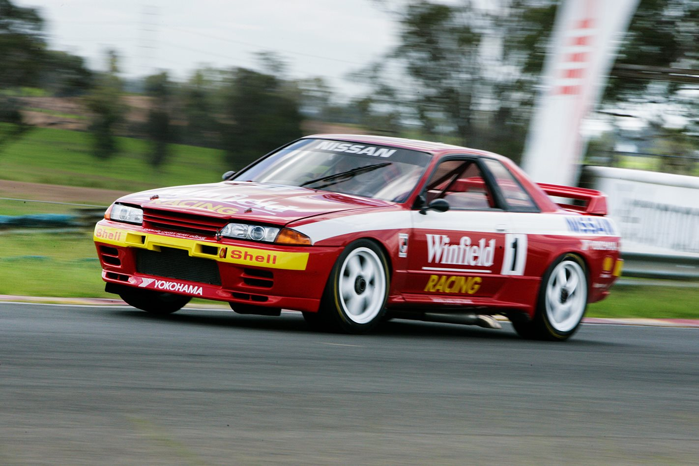 Nissan Race Car >> The best of Nissan's Australian touring cars