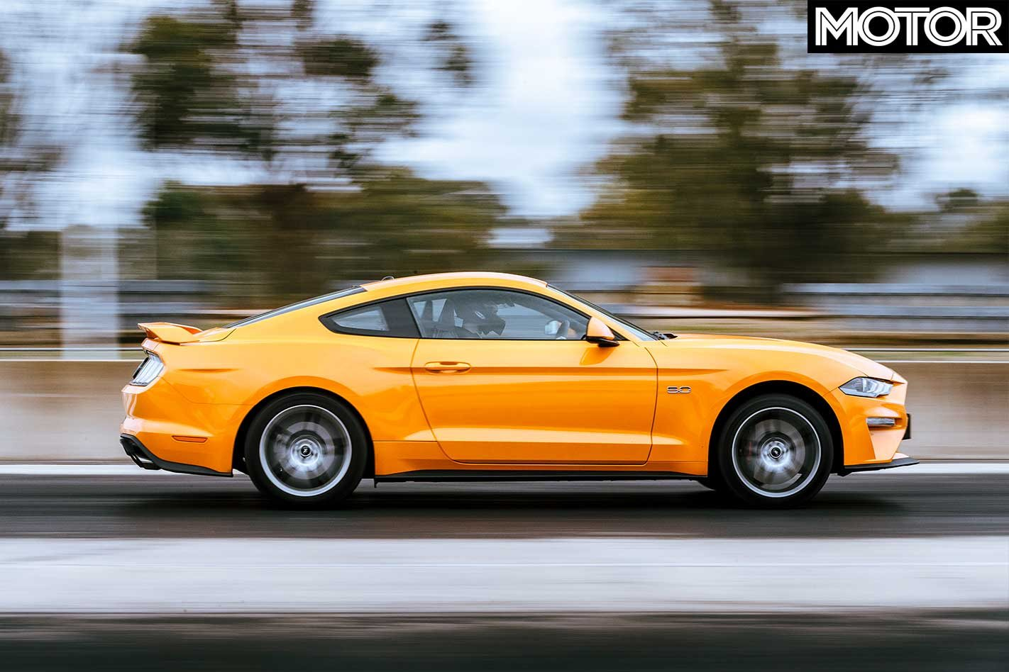 2018 ford mustang the acceleration test