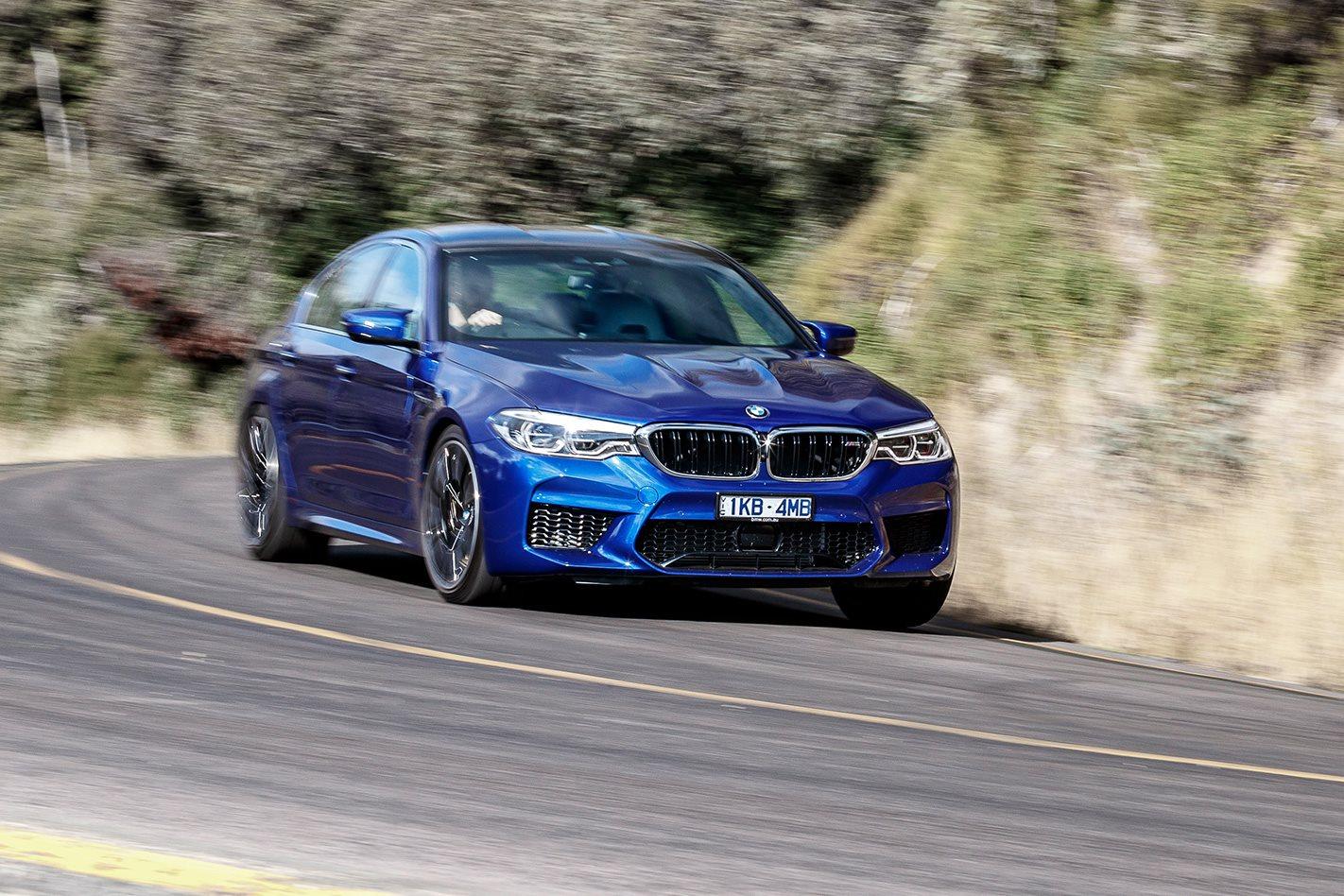 4ad0c5b3ff88 BMW M5 v Mercedes-AMG E63 S  Four to the floor