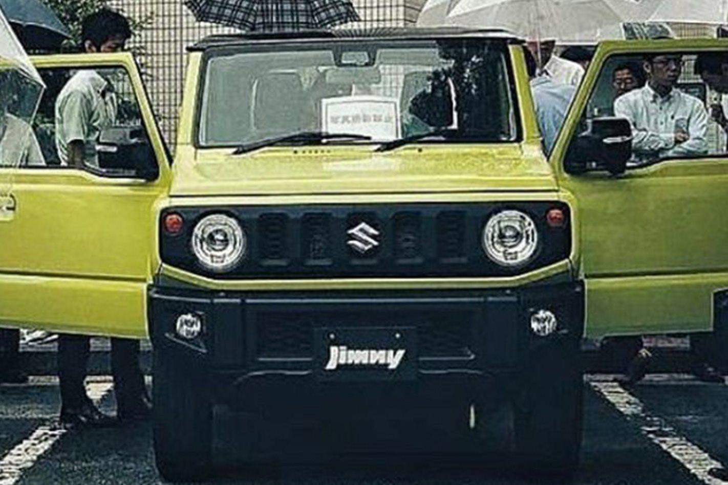 2019 Suzuki Jimny Photos Surface