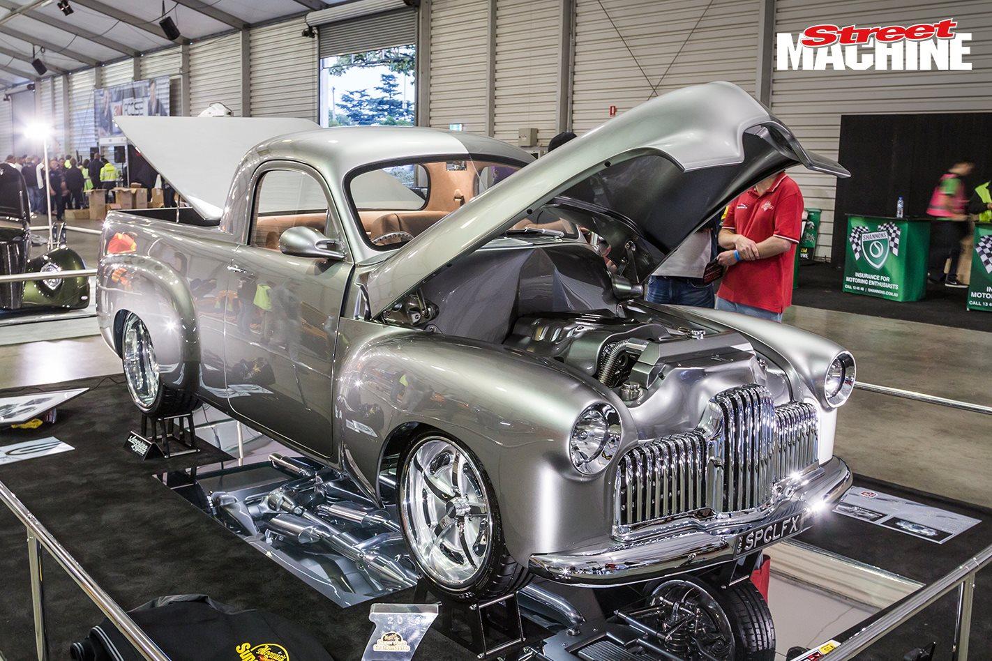 SPCLFX custom FX Holden Ute at MotorEx 2018 – Video