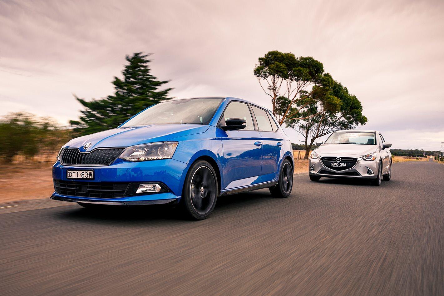 Volkswagen Polo V Mazda 2 Suzuki Swift Citroen C3 Skoda Fabia Monte Carlo Fuse Box Comparison Review