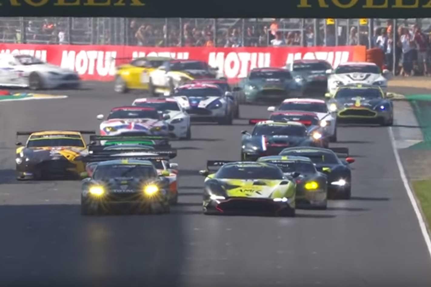 2018 Aston Martin Vantage Race Cars Showcased At Le Mans