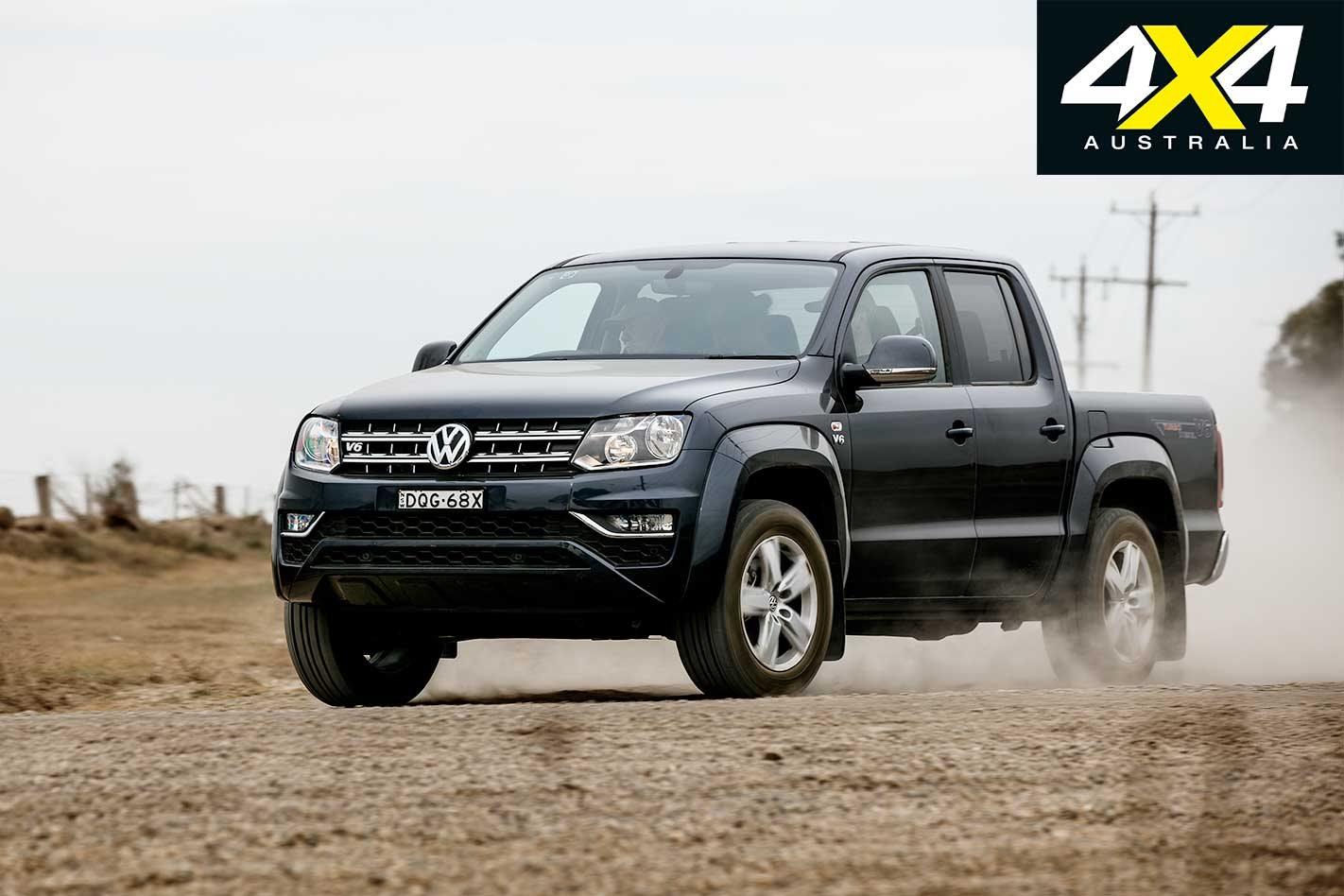 2018 Ute Test: Volkswagen Amarok V6 Sportline