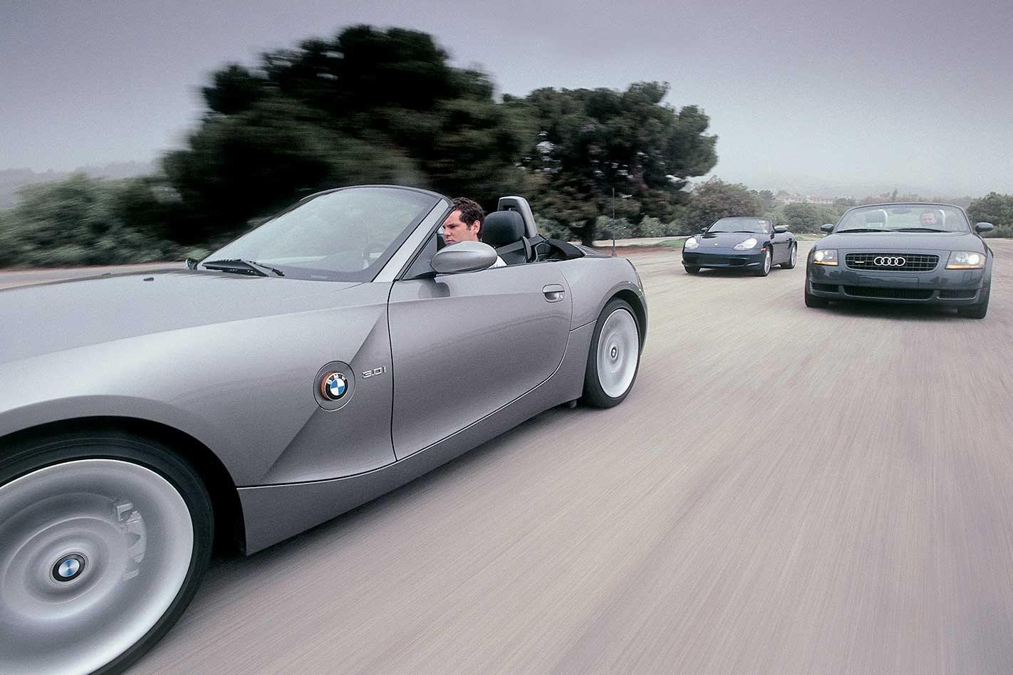 2004 bmw z4 roadster reviews