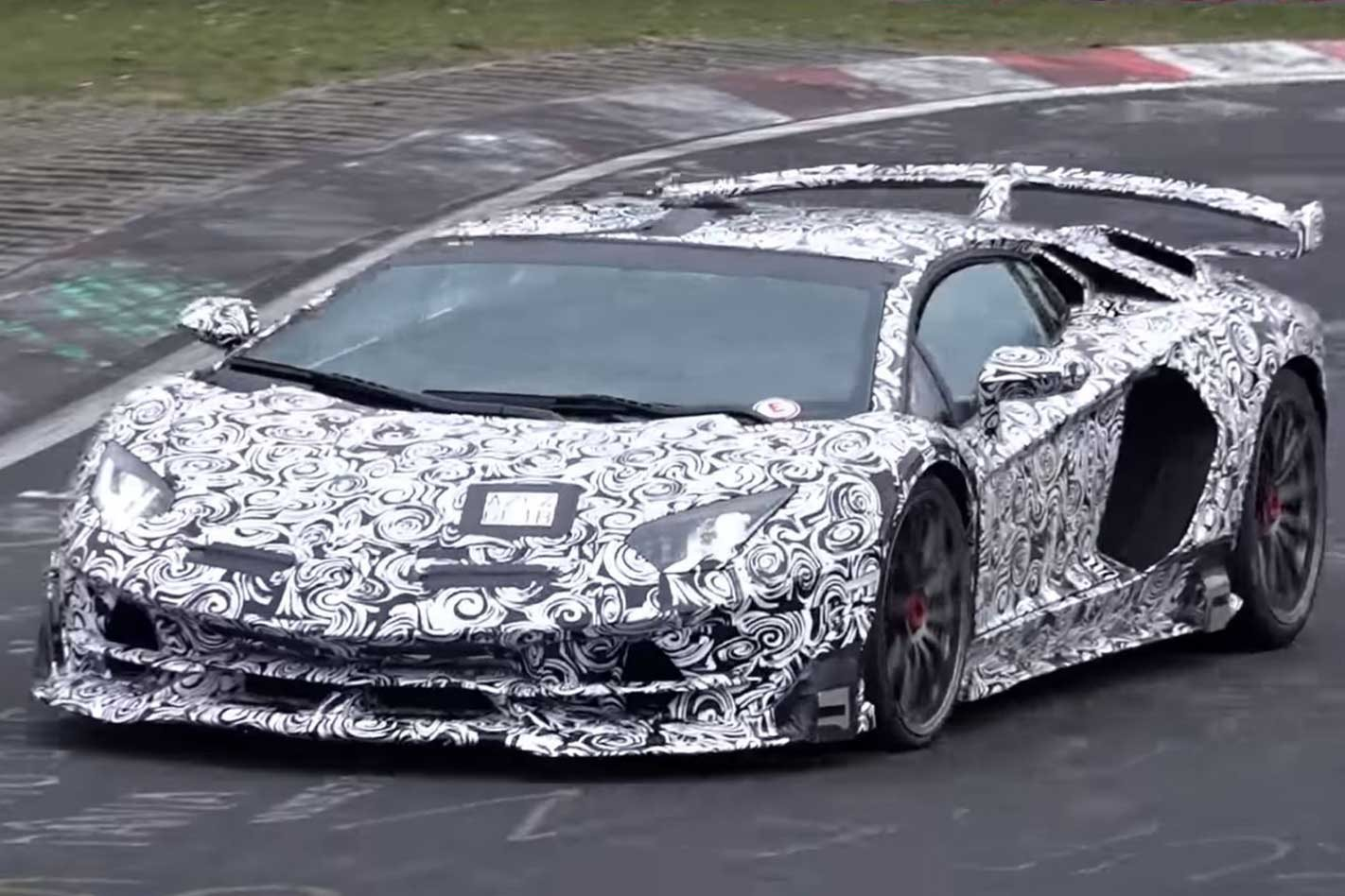 Lamborghini Aventador SVJ could break Nurburgring lap record