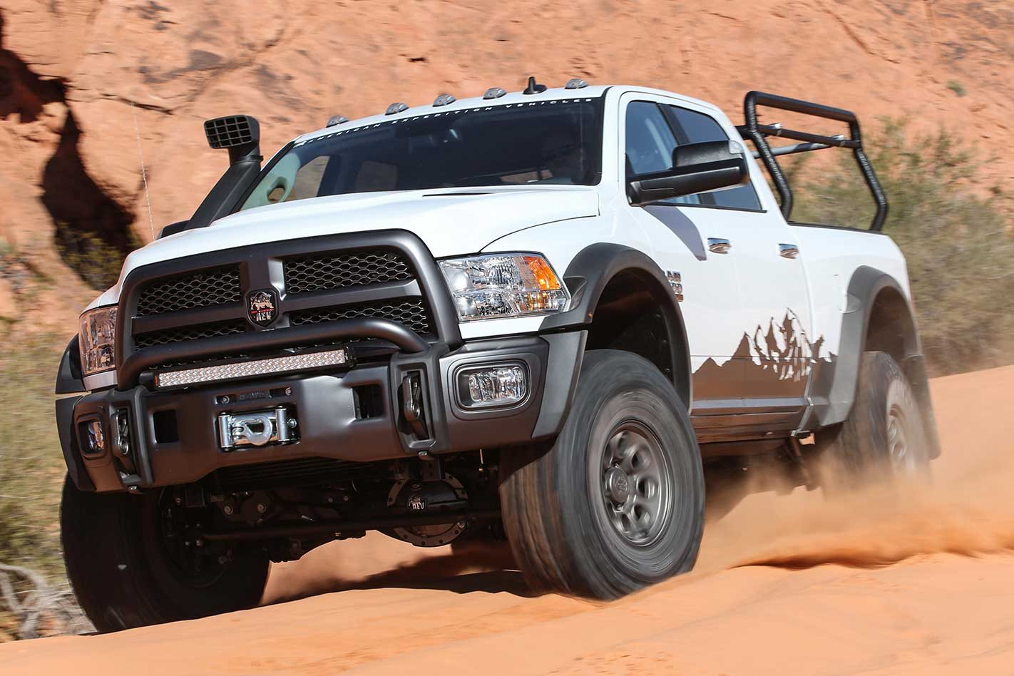 Ram 2500 Aev Prospector Xl 4x4 Review Dodge Track Bar