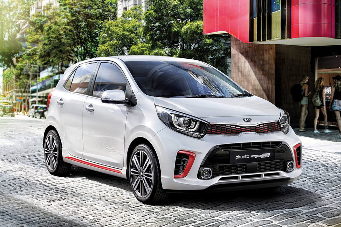 2018 kia picanto gt line quick review. Black Bedroom Furniture Sets. Home Design Ideas