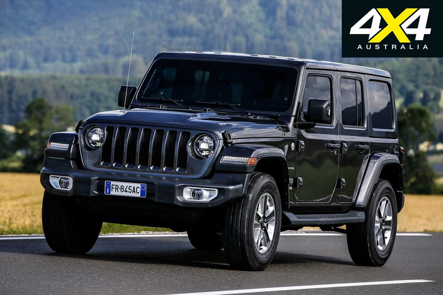 Jeep Jl Wrangler Powertrain Details Yj Engine Diagram Parts List Command Trac Remains The 4x4 System For Most Models With Rock Standard On Rubicon Variants Part Time