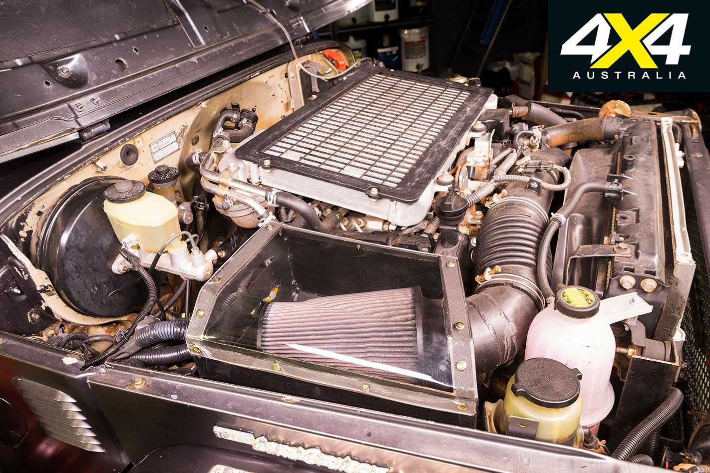 Custom Toyota Land Cruiser Bj40 Review Engine The Idea Of Transplanting A Modern 4x4s Gearbox Drivetrain And Into What Is Distinctly Shorter Much Older Rig Sounds Like Whole Lot