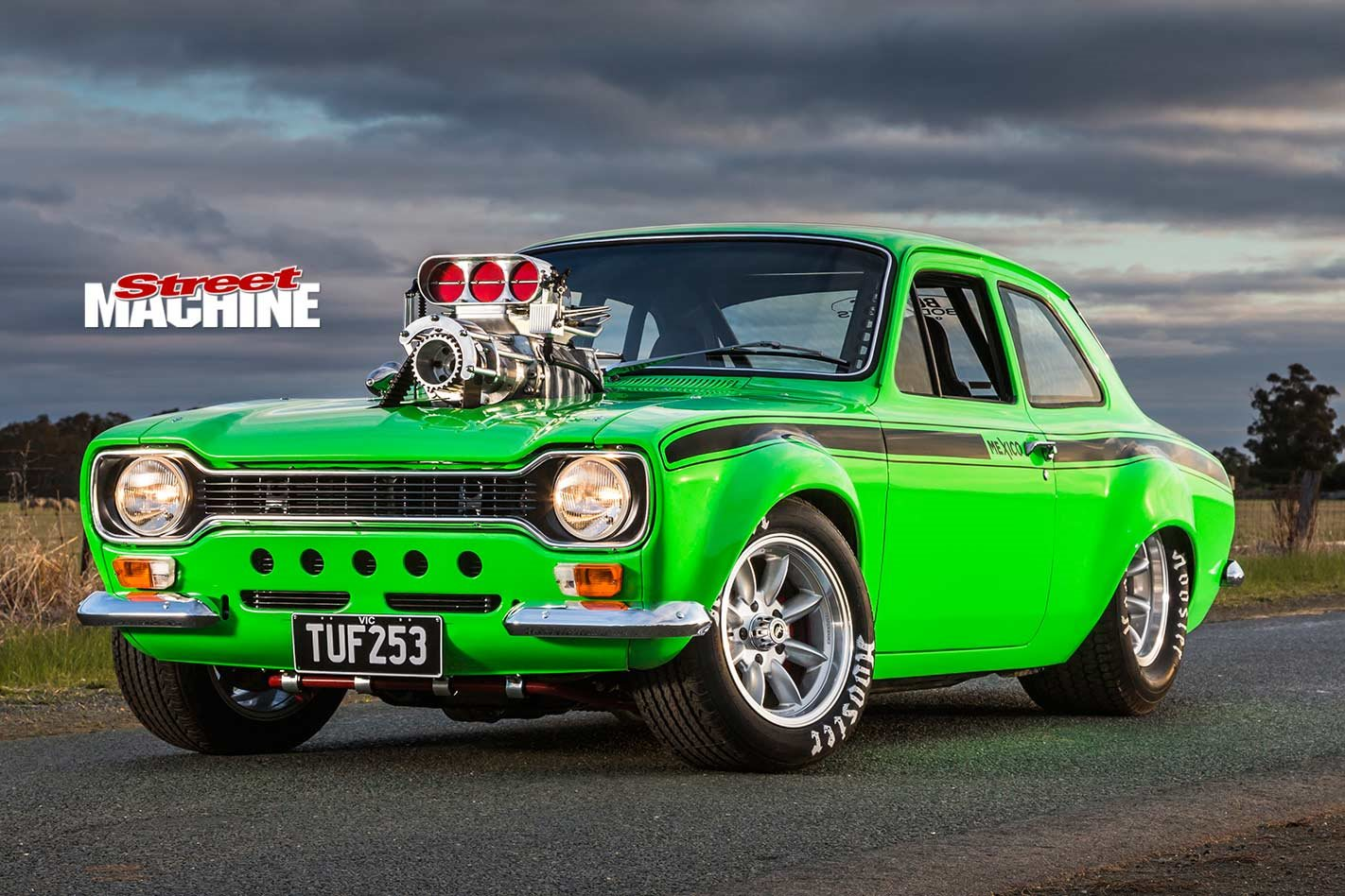 Supercharged Holden 253 Powered 1974 Ford Escort Mark I