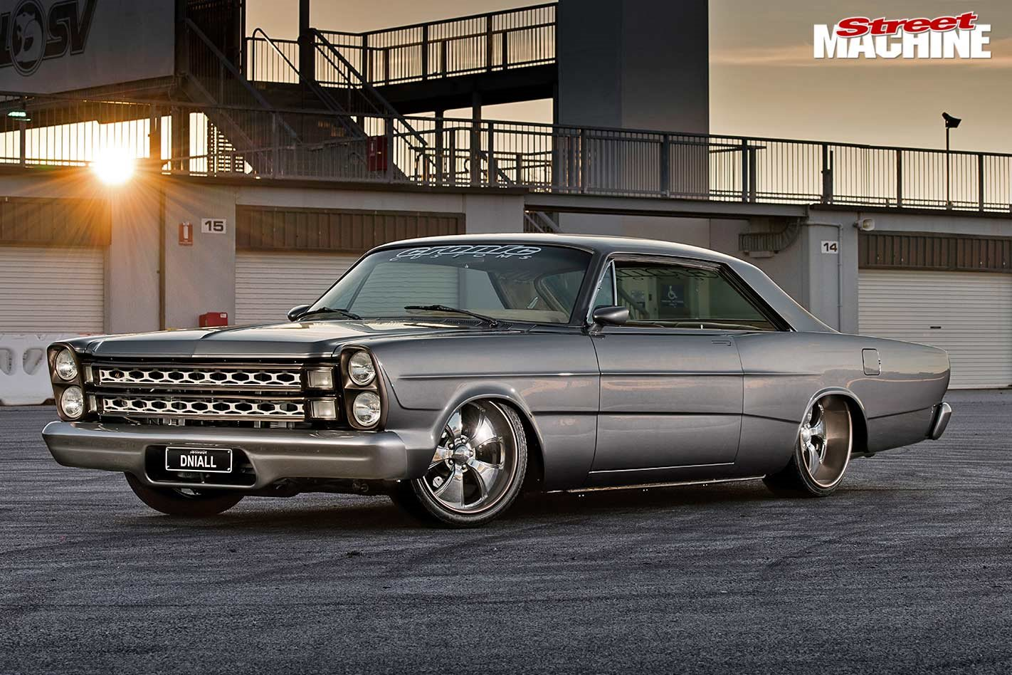 Pro touring Ford Coyote-powered 1966 Galaxie