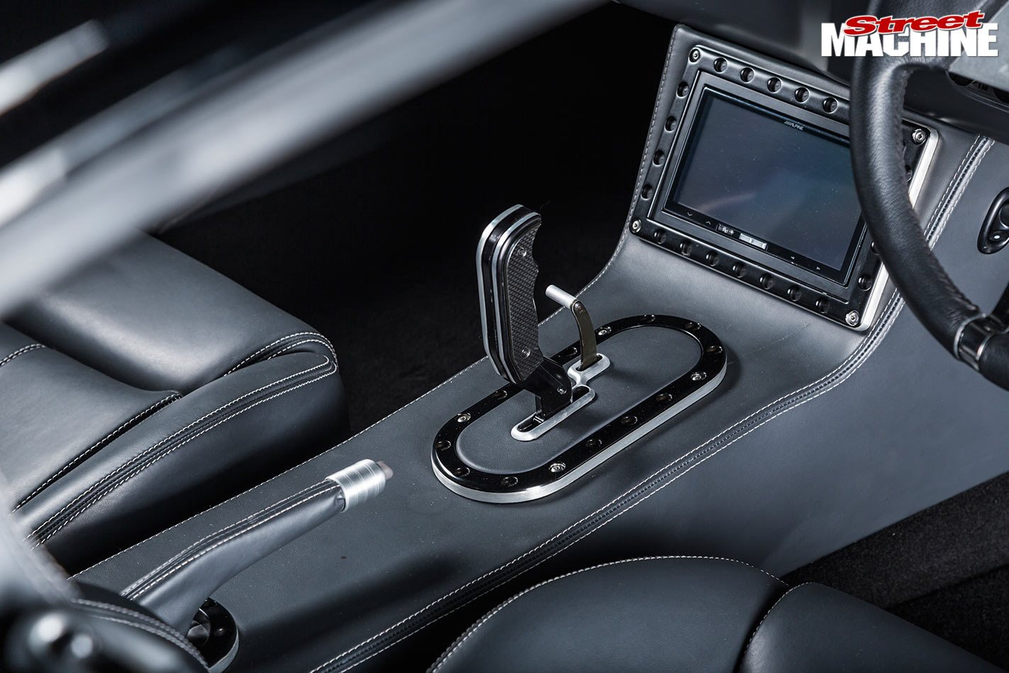 Plymouth Barracuda console