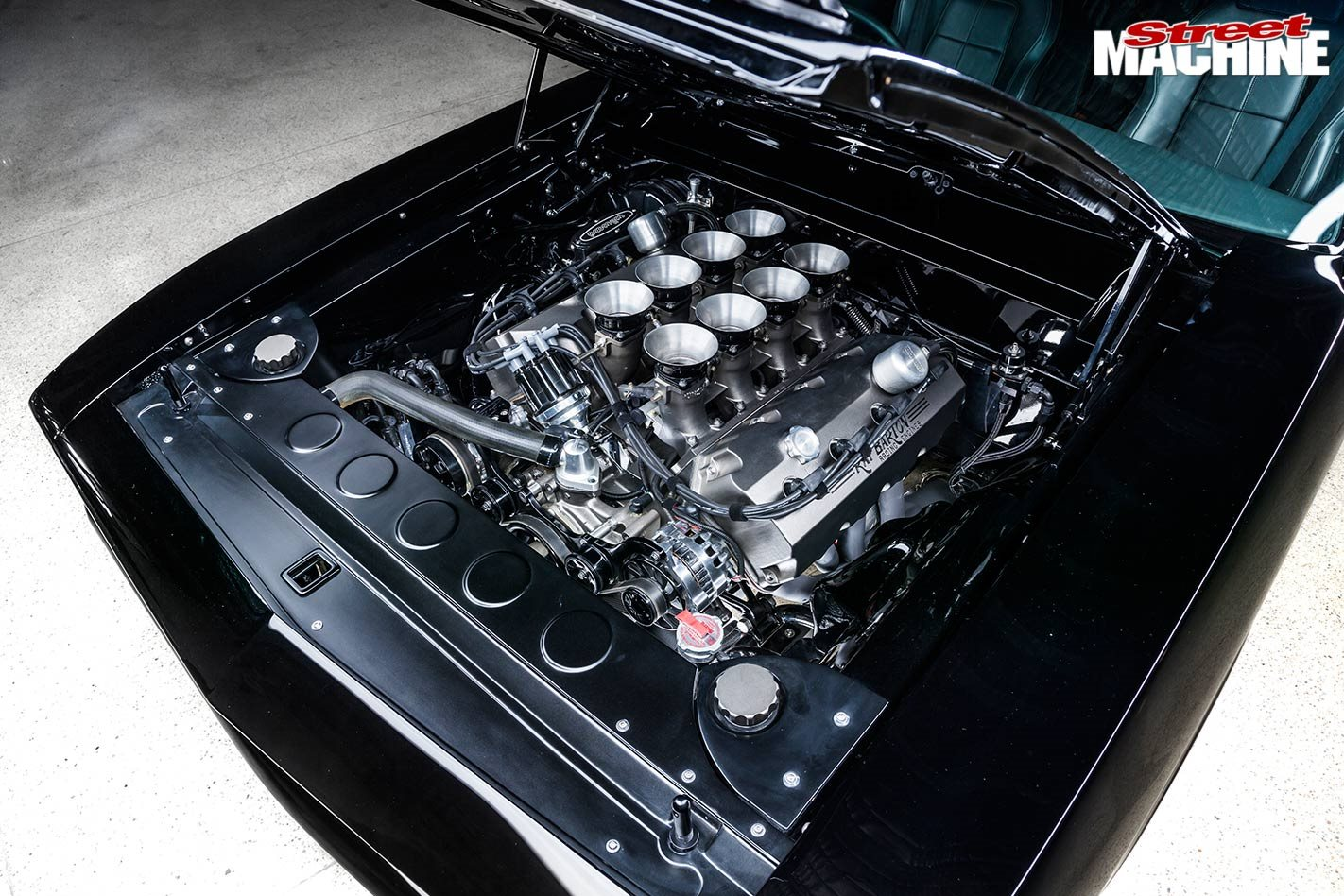 Plymouth Barracuda engine bay
