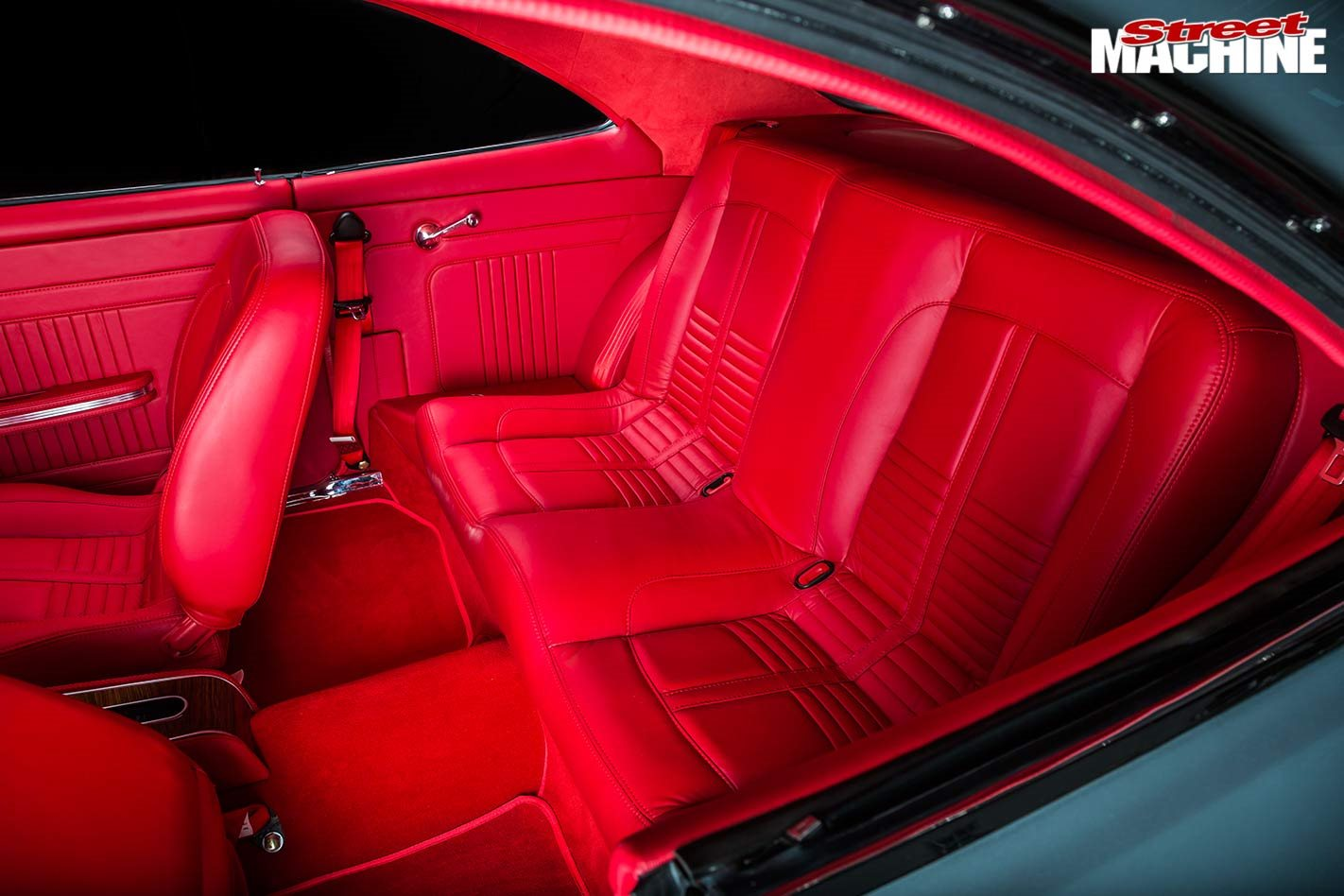 Holden HK Monaro rear seats