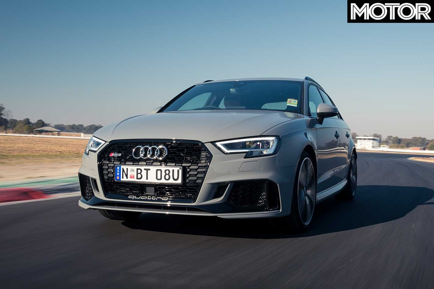 2018 Audi Rs3 Sportback Track Review
