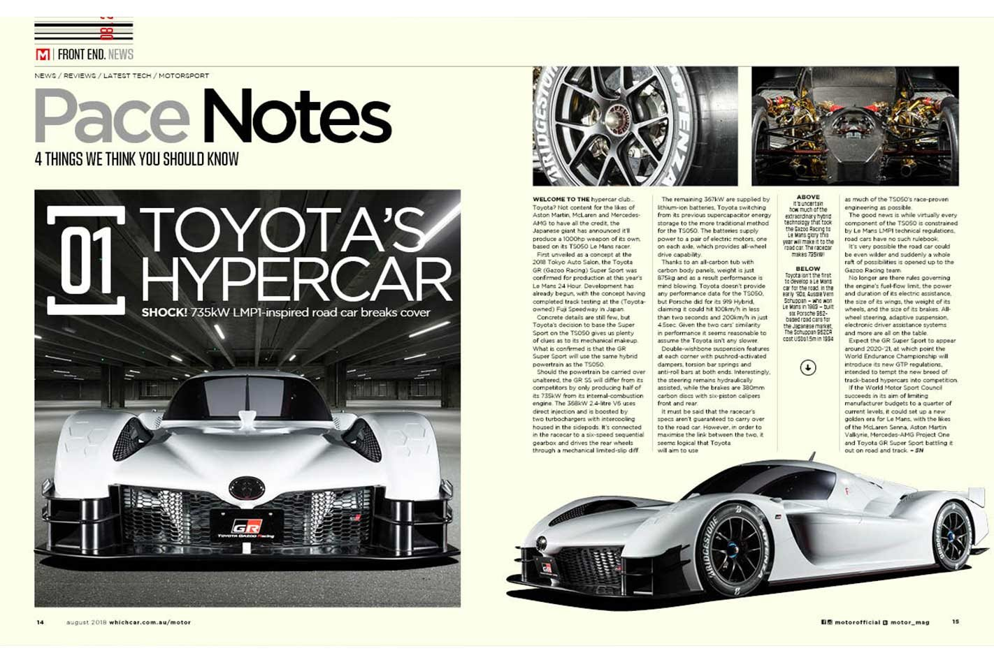 motor magazine august 2018 issue preview