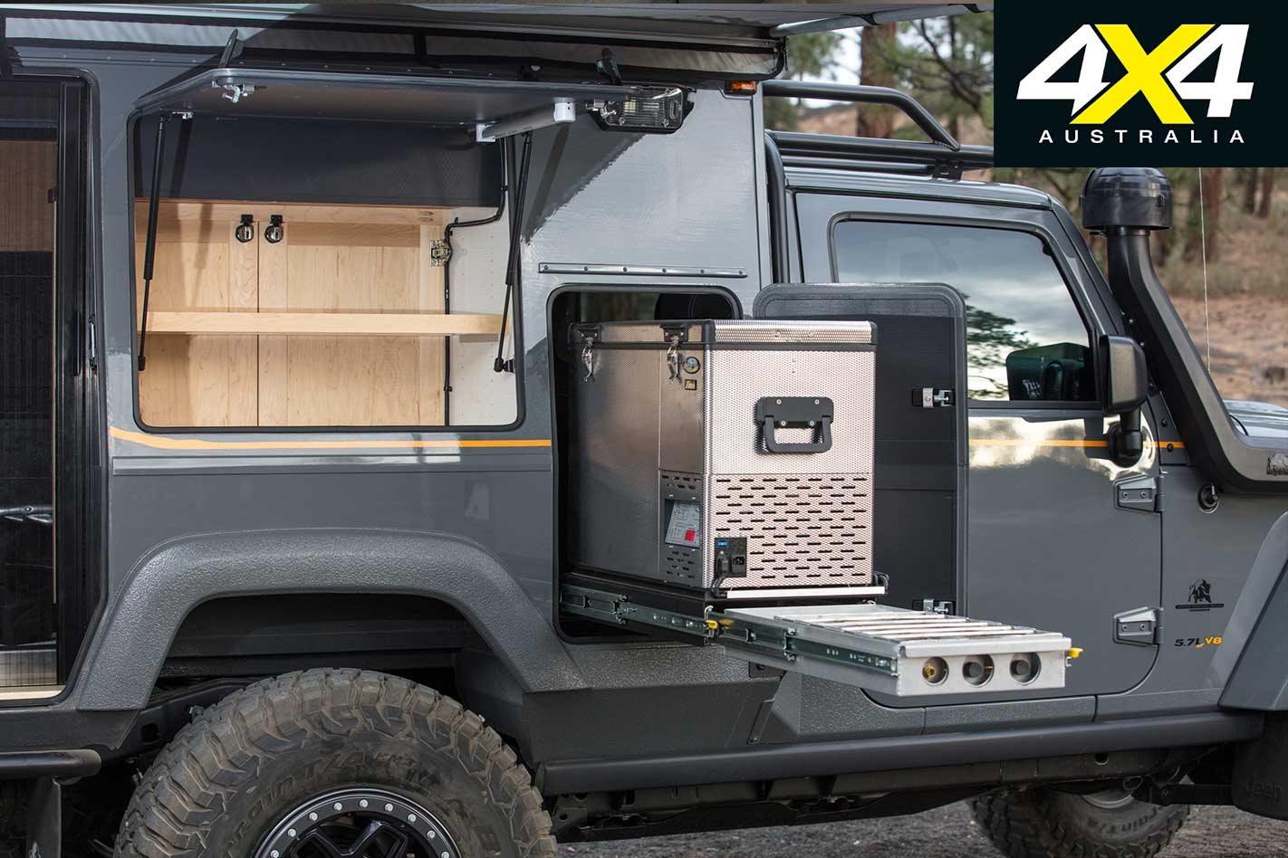 Custom Aev Jeep Jk Wrangler Outpost Ii Review Fuel Cap