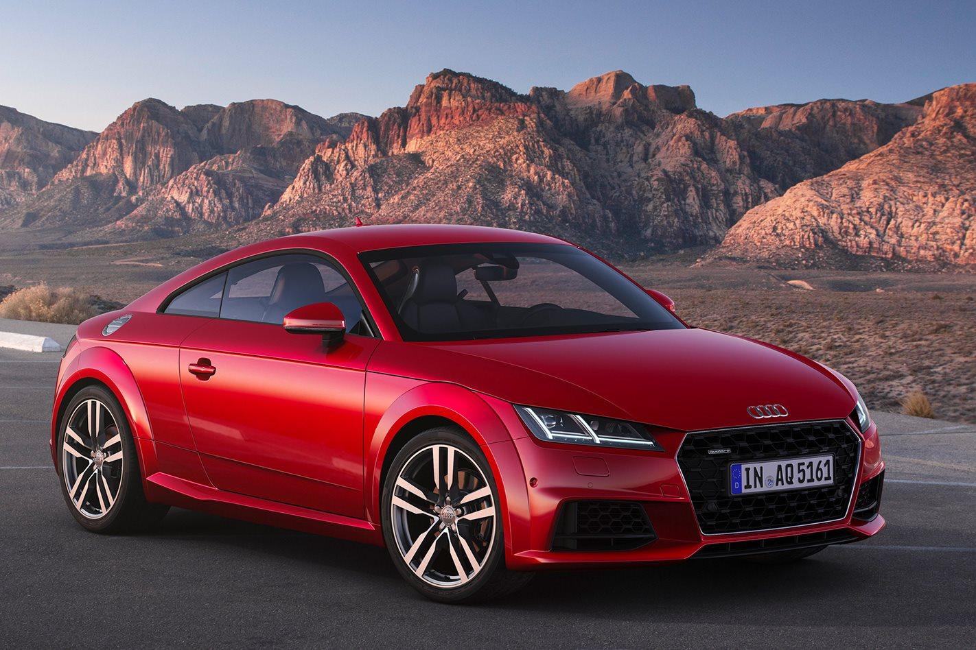 Audi Tt Evolution Of The Badge