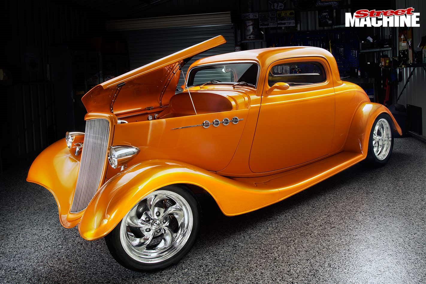 Elite-level home-built 1934 Ford three-window coupe - IMPACT