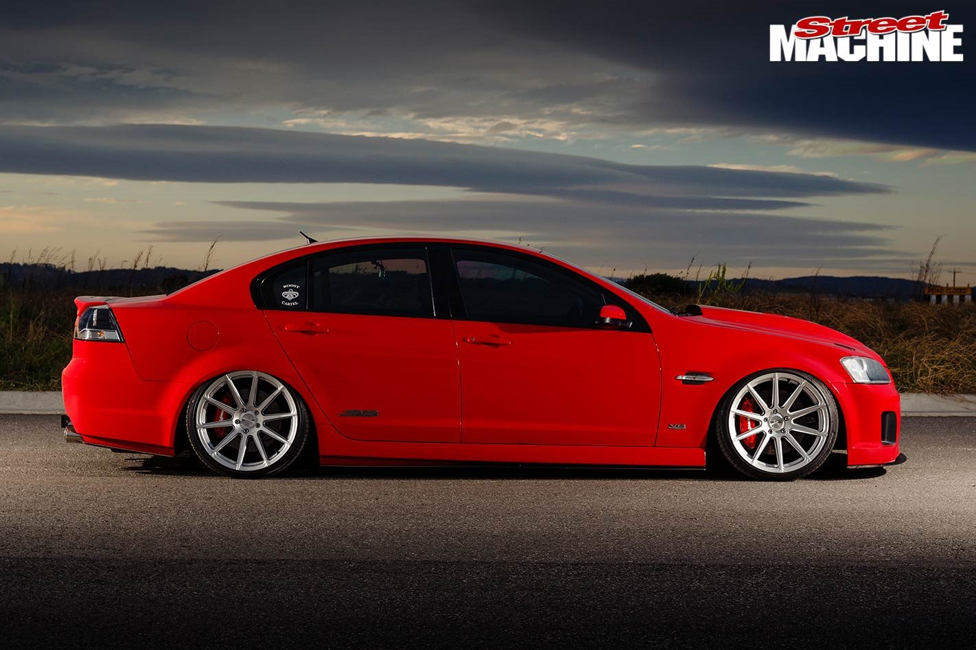 Twin-turbo Holden VE SS-V Commodore