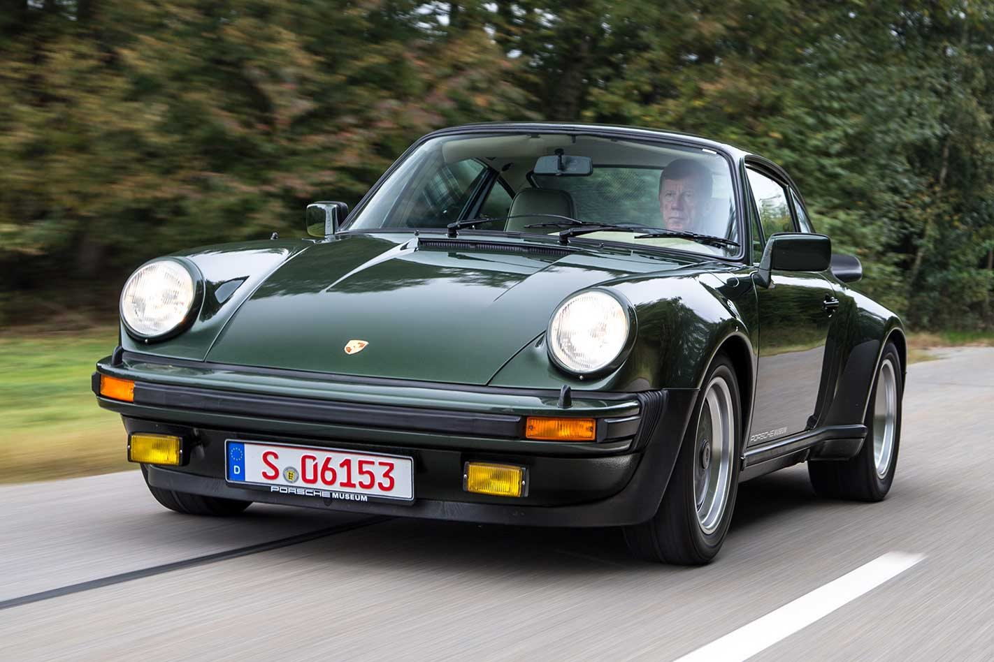 1975 Porsche 911 930 Turbo The Five Greatest 911s