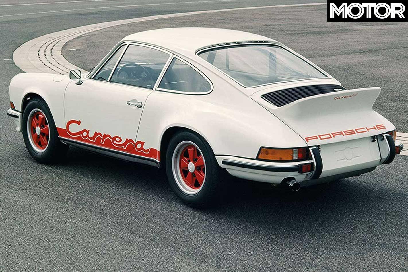 1973 Porsche 911 Carrera Rs 2 7 The Five Greatest 911s
