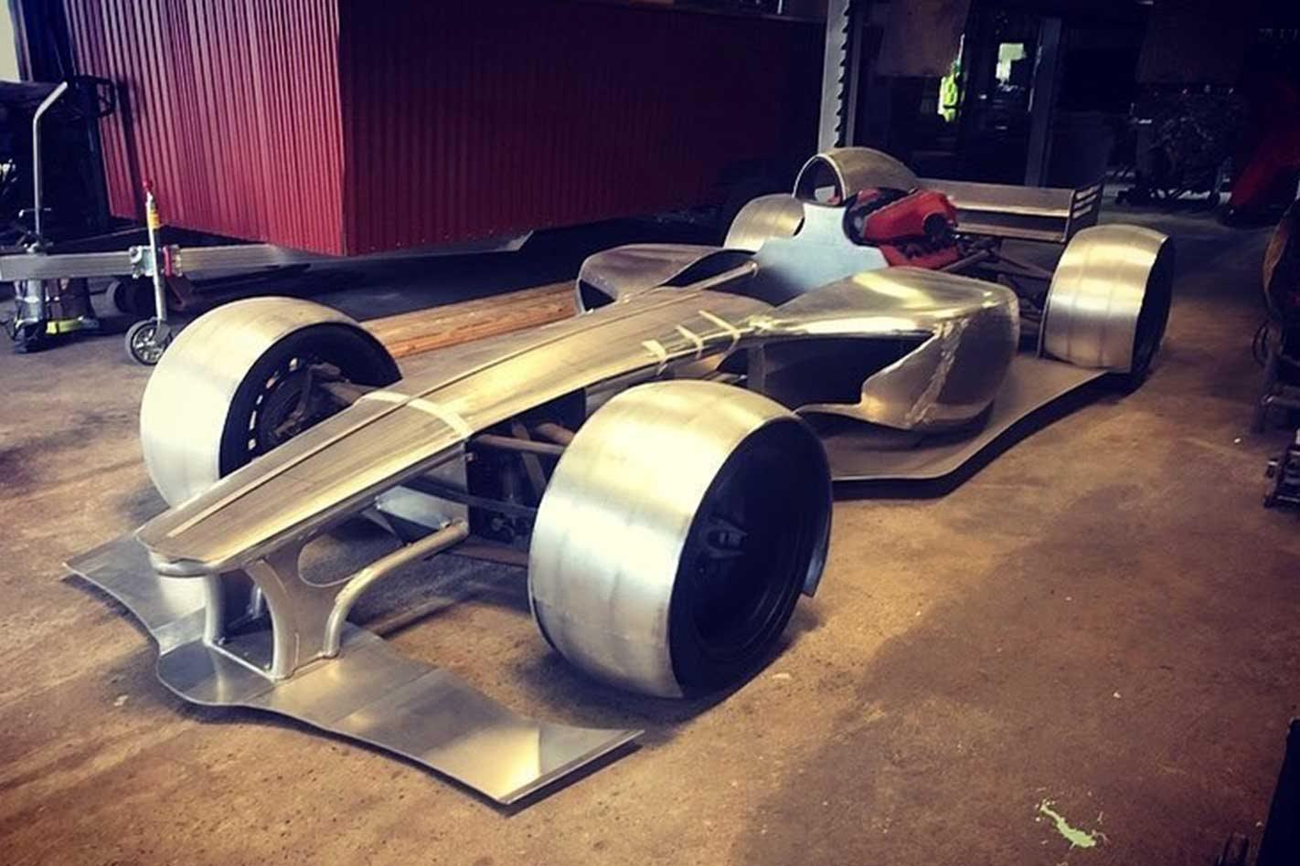 Aussie-built Ferrari-powered F1 road car in development