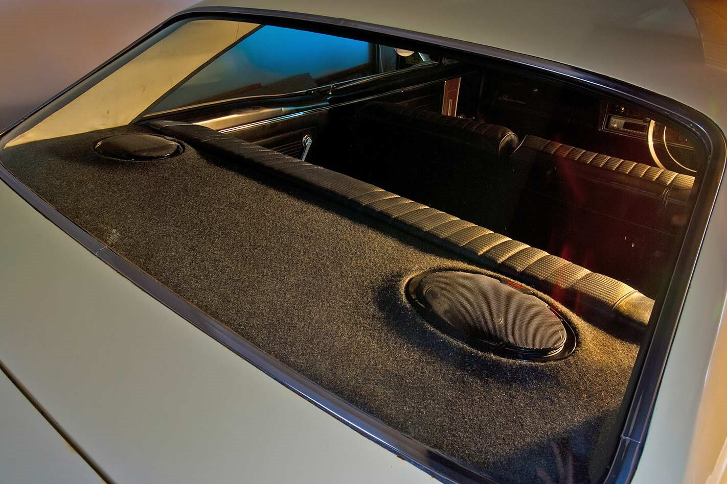 My Kia Performance >> How to make a rear parcel tray for mounting speakers tech ...