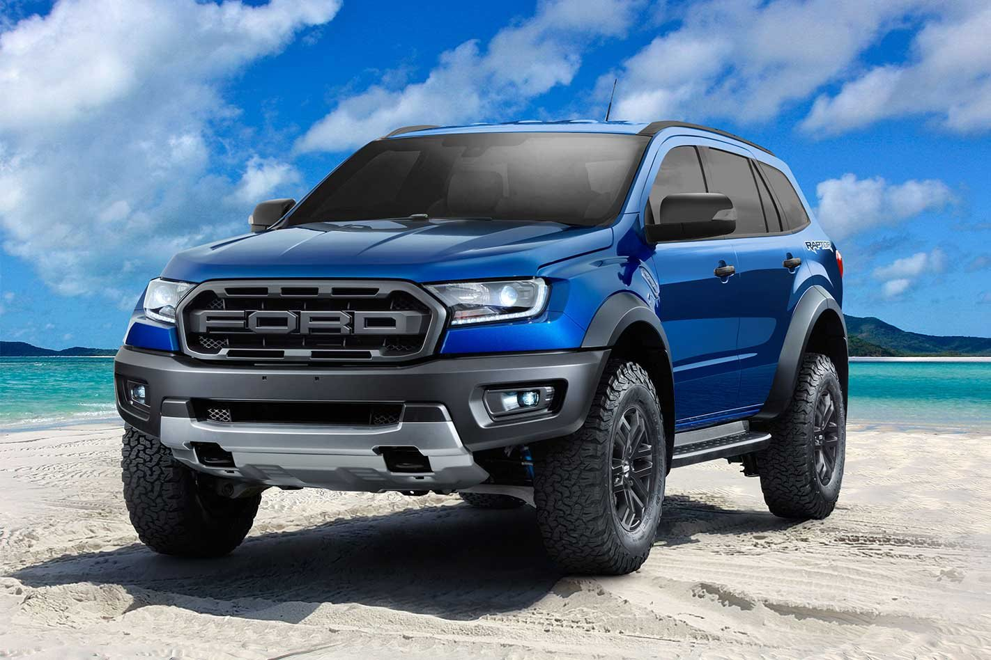 Ford Raptor Lifted >> Ford Everest Raptor - 4x4 Wishlist