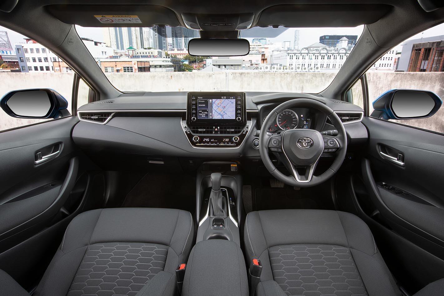 2018 Toyota Corolla hatchback interior