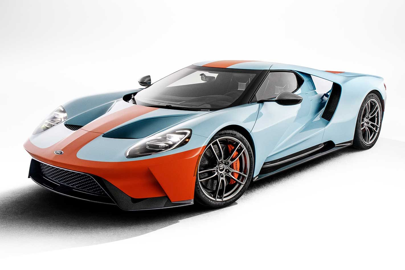 2019 Ford Gt Heritage Edition Honours Gulf Livery Gt40
