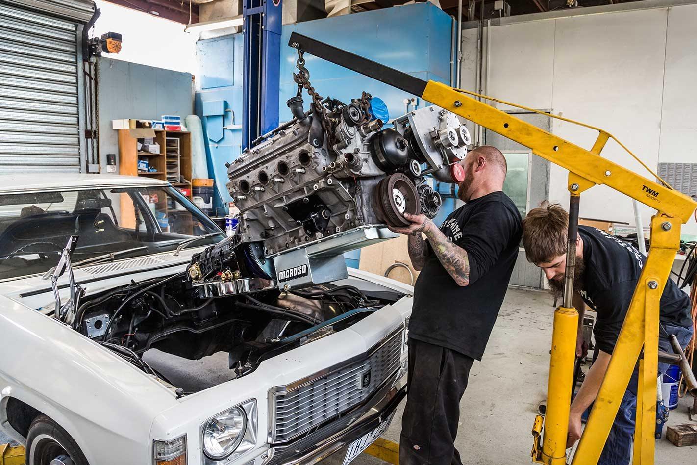 Castlemaine Rod Shop Holden Hj Kingswood Ls Conversion Ls1 Swap Wiring Harness