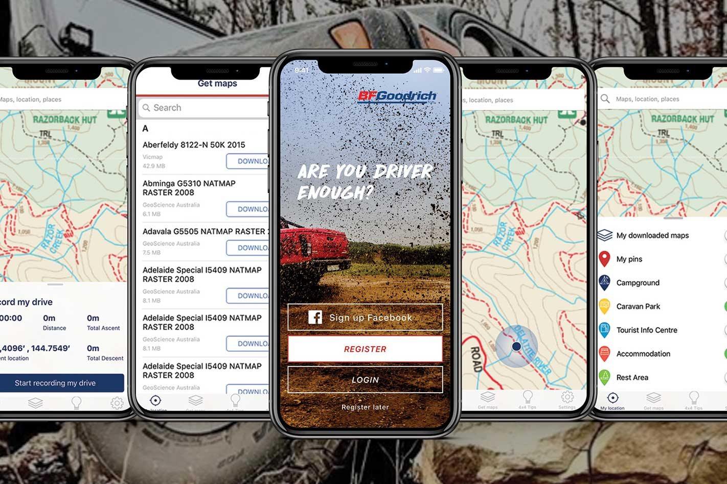Bfgoodrich S Free Off Road Escape App