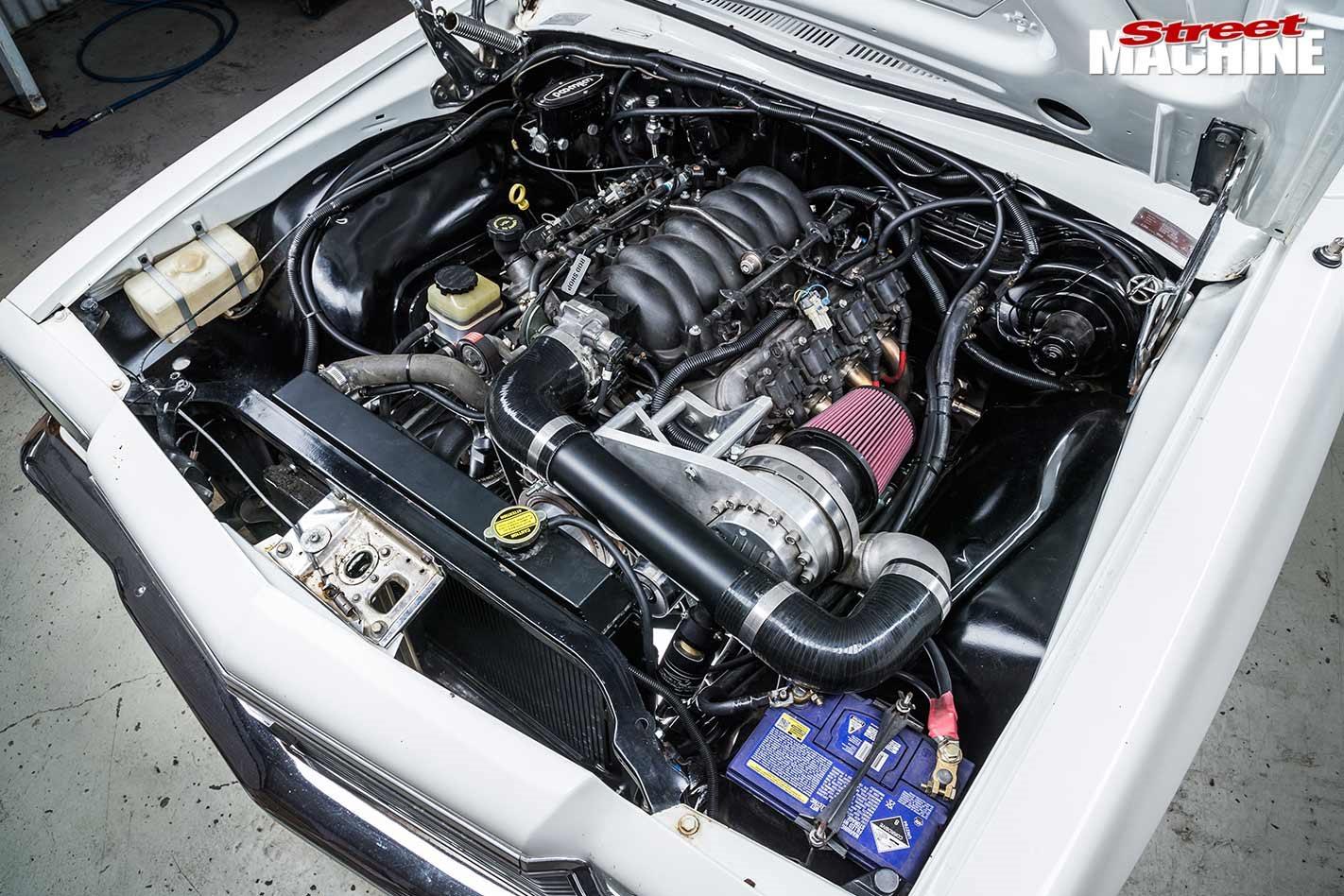 Castlemaine Rod Shop Holden HJ Kingswood LS conversion
