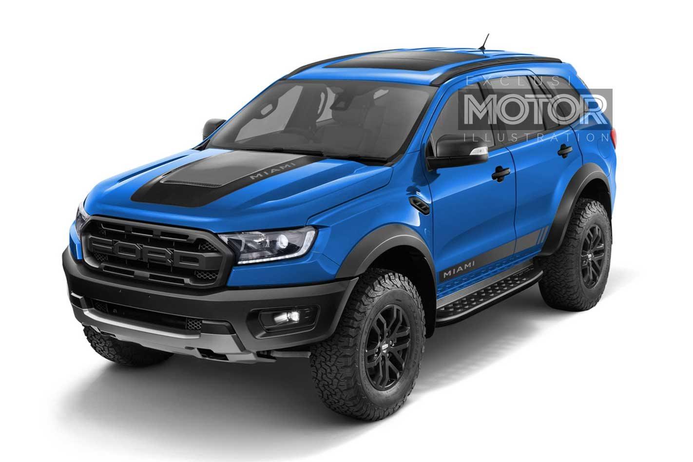 Ford Everest Raptor 'Miami': Sweet Dream