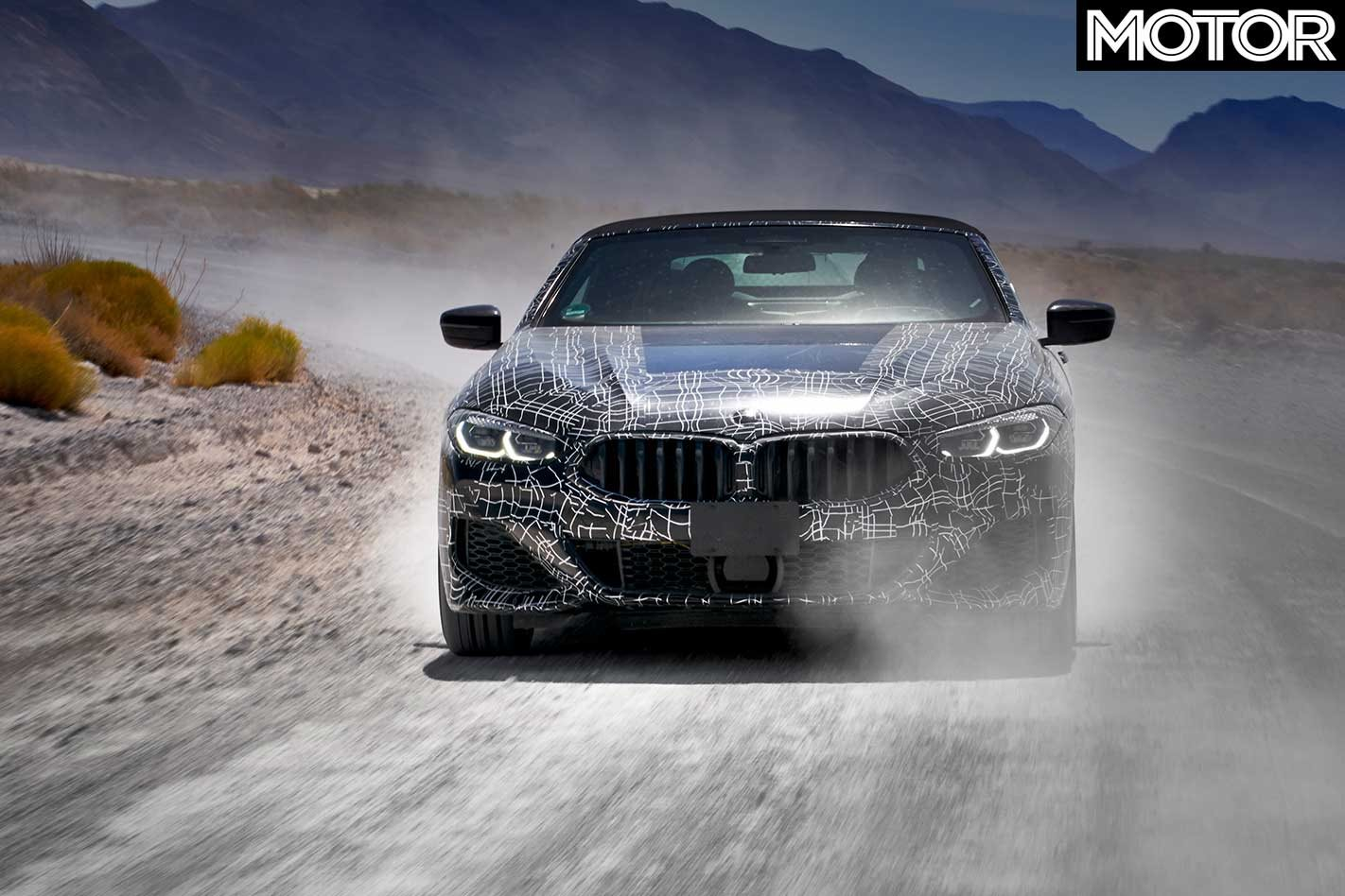 BMW Says The Development Program For 8 Series Convertible Has Also Undergone Testing At Winter Centre In Arjeplog Sweden