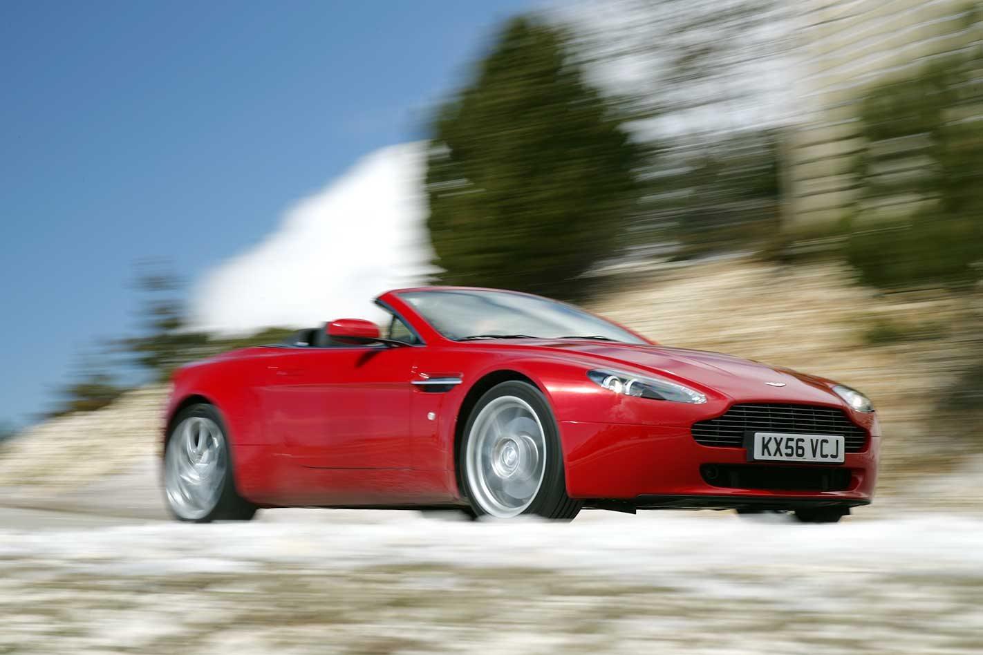Aston Martin V Vantage Roadster Review Classic MOTOR - 2007 aston martin v8 vantage